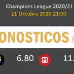 Manchester City Porto Pronostico 21/10/2020 5