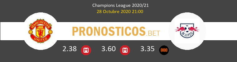 Manchester United vs Red Bull Leipzig Pronostico (28 Oct 2020) 1