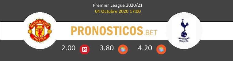 Manchester United Tottenham Hotspur Pronostico 04/10/2020 1