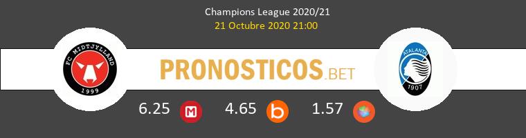 Midtjylland Atalanta Pronostico 21/10/2020 1