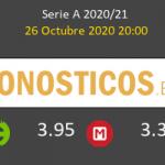 AC Milan Roma Pronostico 26/10/2020 2