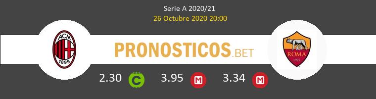 AC Milan Roma Pronostico 26/10/2020 1