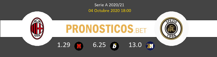 Milan Spezia Pronostico 04/10/2020 1