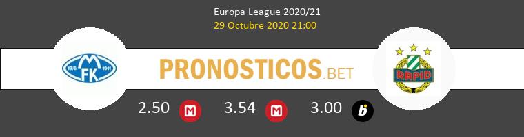 Molde FK vs Rapid Wien Pronostico (29 Oct 2020) 1