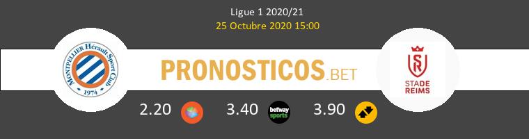 Montpellier Reims Pronostico 25/10/2020 1