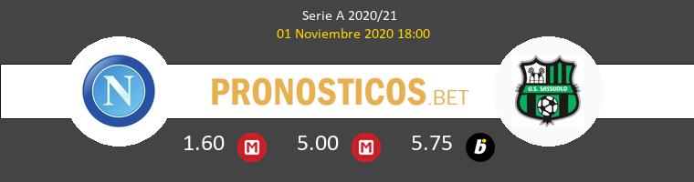 Napoli vs Sassuolo Pronostico (1 Nov 2020) 1