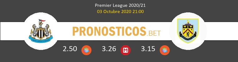 Newcastle Burnley Pronostico 03/10/2020 1