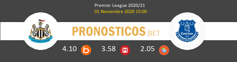Newcastle vs Everton Pronostico (1 Nov 2020) 1