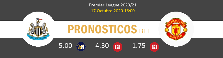 Newcastle Manchester United Pronostico 17/10/2020 1