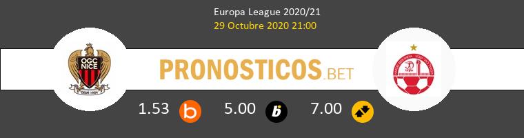 Nice vs Hapoel Be'er Sheva Pronostico (29 Oct 2020) 1