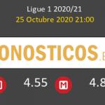 Lyon Monaco Pronostico 25/10/2020 2
