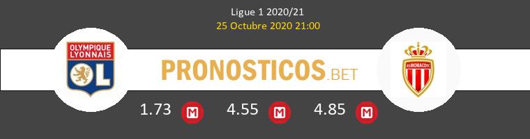 Lyon Monaco Pronostico 25/10/2020 1