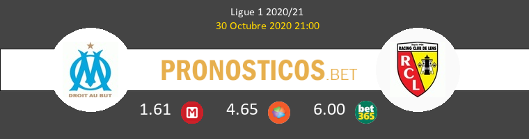 Olympique Marsella vs Lens Pronostico (30 Oct 2020) 1