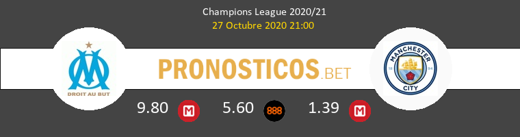 Marsella vs Manchester City Pronostico (27 Oct 2020) 1
