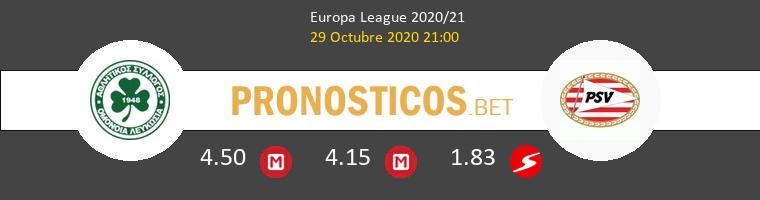 Omonia Nicosia vs PSV Pronostico (29 Oct 2020) 1