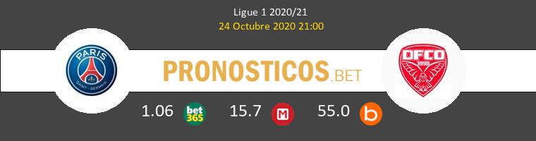 PSG Dijon FCO Pronostico 24/10/2020 1