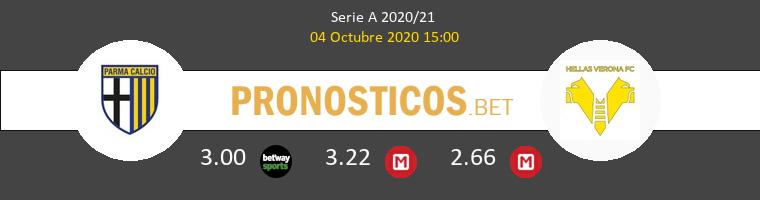 Parma Hellas Verona Pronostico 04/10/2020 1