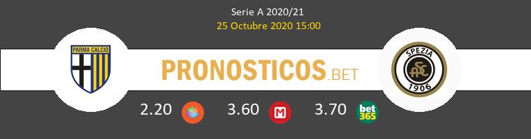 Parma Spezia Pronostico 25/10/2020 1