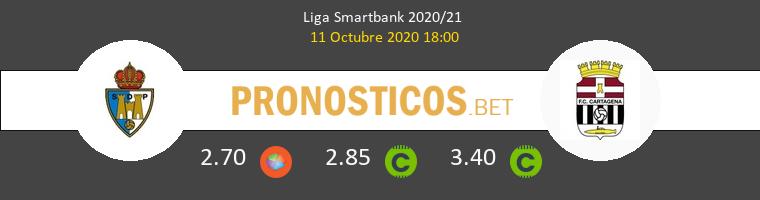 Ponferradina F.C. Cartagena Pronostico 11/10/2020 1