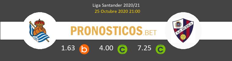 Real Sociedad Huesca Pronostico 25/10/2020 1