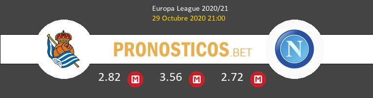 Real Sociedad vs Nápoles Pronostico (29 Oct 2020) 1