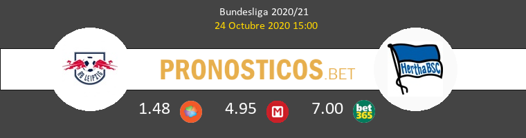 RB Leipzig Hertha Berlin Pronostico 24/10/2020 1