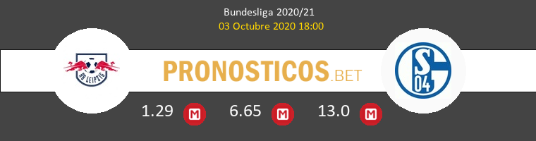 Red Bull Leipzig Schalke 04 Pronostico 03/10/2020 1