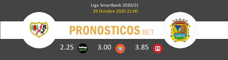 Rayo Vallecano vs Fuenlabrada Pronostico (29 Oct 2020) 1