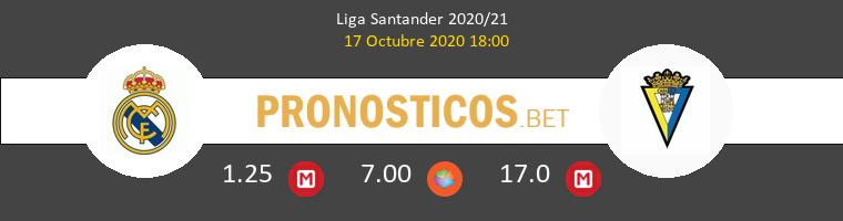 Real Madrid Cádiz Pronostico 17/10/2020 1