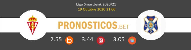 Real Sporting Tenerife Pronostico 19/10/2020 1