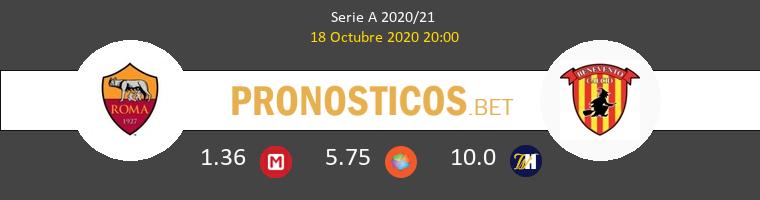 Roma Benevento Pronostico 18/10/2020 1