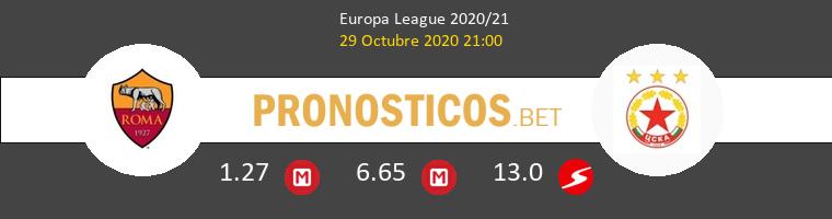 Roma vs CSKA Sofia Pronostico (29 Oct 2020) 1