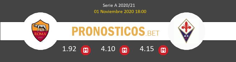Roma vs Fiorentina Pronostico (1 Nov 2020) 1