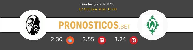 SC Freiburg Werder Bremen Pronostico 17/10/2020 1