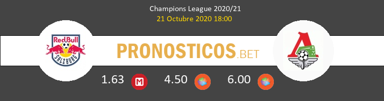 Salzburg Lokomotiv Moskva Pronostico 21/10/2020 1