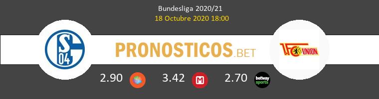 Schalke 04 Union Berlin Pronostico 18/10/2020 1