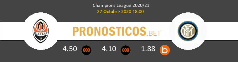 Shakhtar Donetsk vs Inter Pronostico (27 Oct 2020) 1