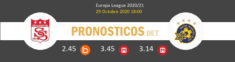 Sivasspor vs Maccabi Tel Aviv Pronostico (29 Oct 2020) 1