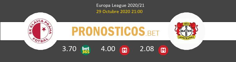 Slavia Praha vs Bayer Leverkusen Pronostico (29 Oct 2020) 1