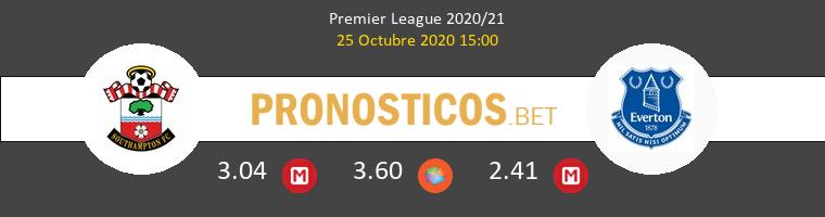 Southampton Everton Pronostico 25/10/2020 1