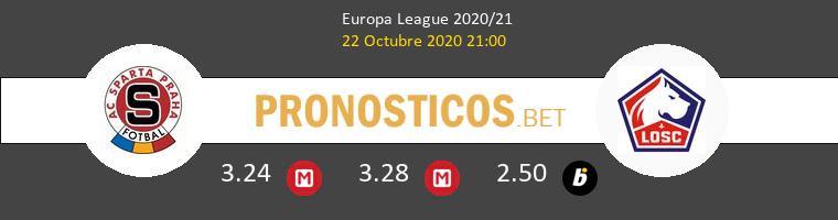 Sparta Praha Lille Pronostico 22/10/2020 1