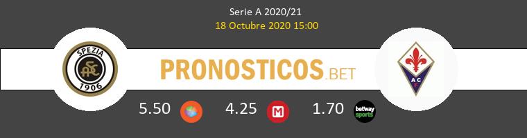 Spezia Fiorentina Pronostico 18/10/2020 1