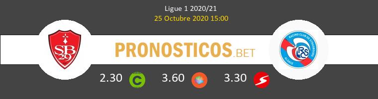 Stade Brestois Estrasburgo Pronostico 25/10/2020 1