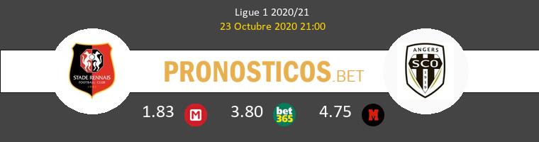 Stade Rennais Angers SCO Pronostico 23/10/2020 1
