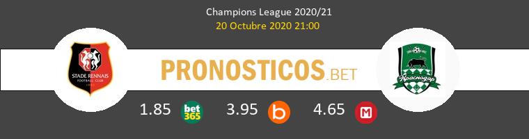 Stade Rennais FK Krasnodar Pronostico 20/10/2020 1