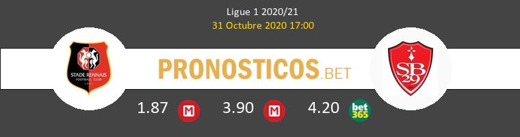 Stade Rennais vs Stade Brestois Pronostico (31 Oct 2020) 1