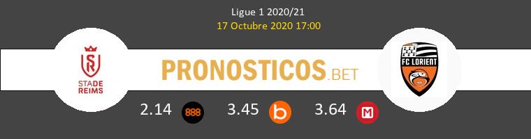 Stade de Reims Lorient Pronostico 17/10/2020 1