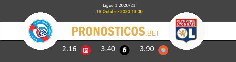 Estrasburgo Lyon Pronostico 18/10/2020 1