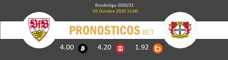 Stuttgart Bayer Leverkusen Pronostico 03/10/2020 1