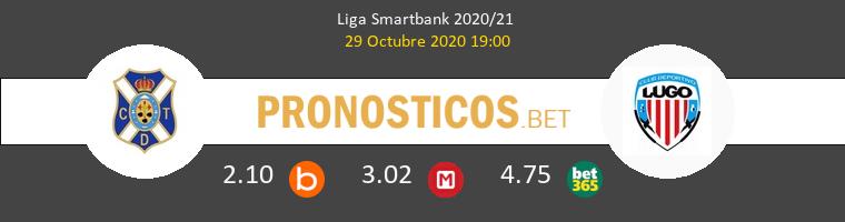 Tenerife vs Lugo Pronostico (29 Oct 2020) 1